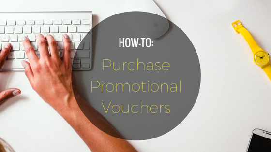 HOW-TO: Purchase Promotional Voucher(s)