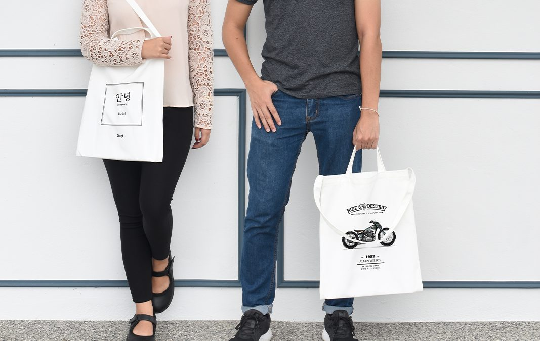 4 Reasons Why You Should Get Pixajoy's New Personalisable Tote Bags.