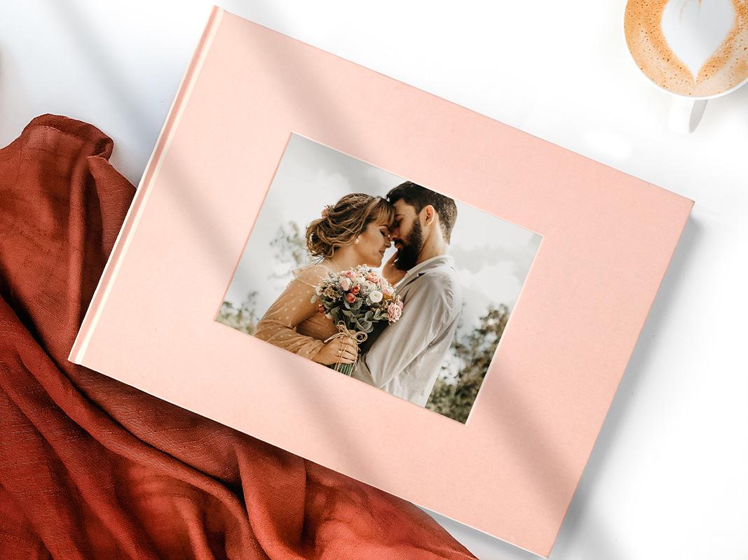 debossed wedding photo books