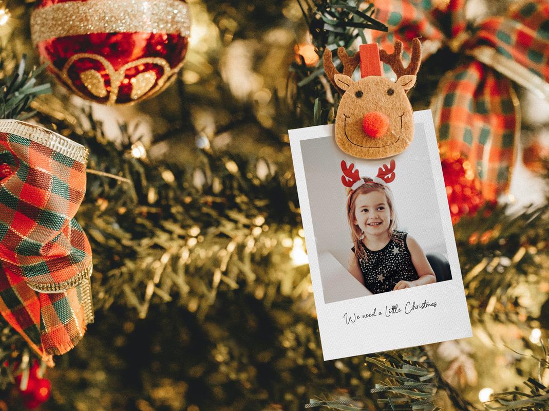 story tag card christmas decor